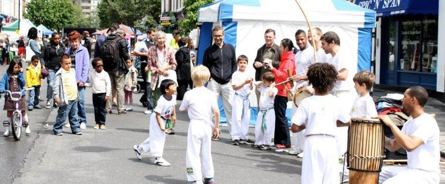 Capoeira Street Roda